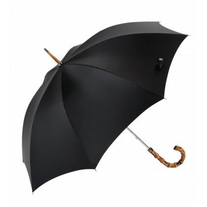 Ilgas, juodas skėtis EZ-10304-1